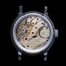 HAMILTON 983 CUSTOM WATCH SHAKUDOU CASE